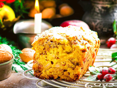Best Apple Walnut Cake