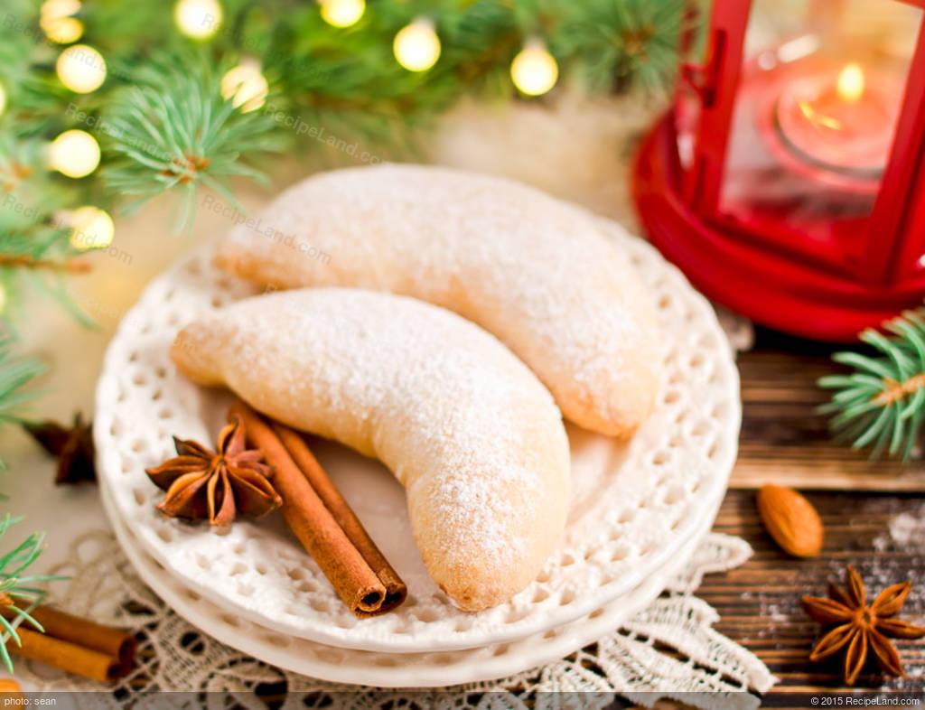 Martha S Almond Crescent Cookies