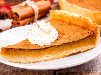 Holiday Vegan Pumpkin Pie