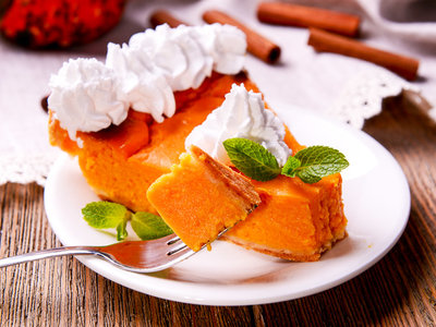 Favourite  Pumpkin Chiffon Pie