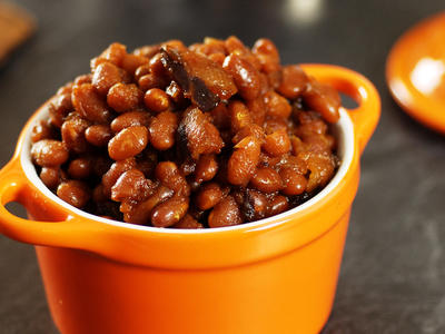 Crockpot Boston Baked Beans