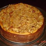 Almond Crunch Pumpkin Cheesecake