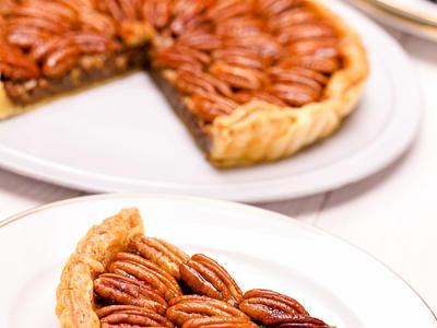 Best Honey Crunch Pecan Pie