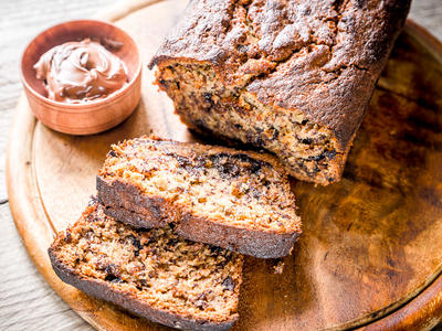Chocolate Chip and Orange Banana Bread