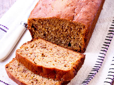 Awesome Low Fat Banana Bread