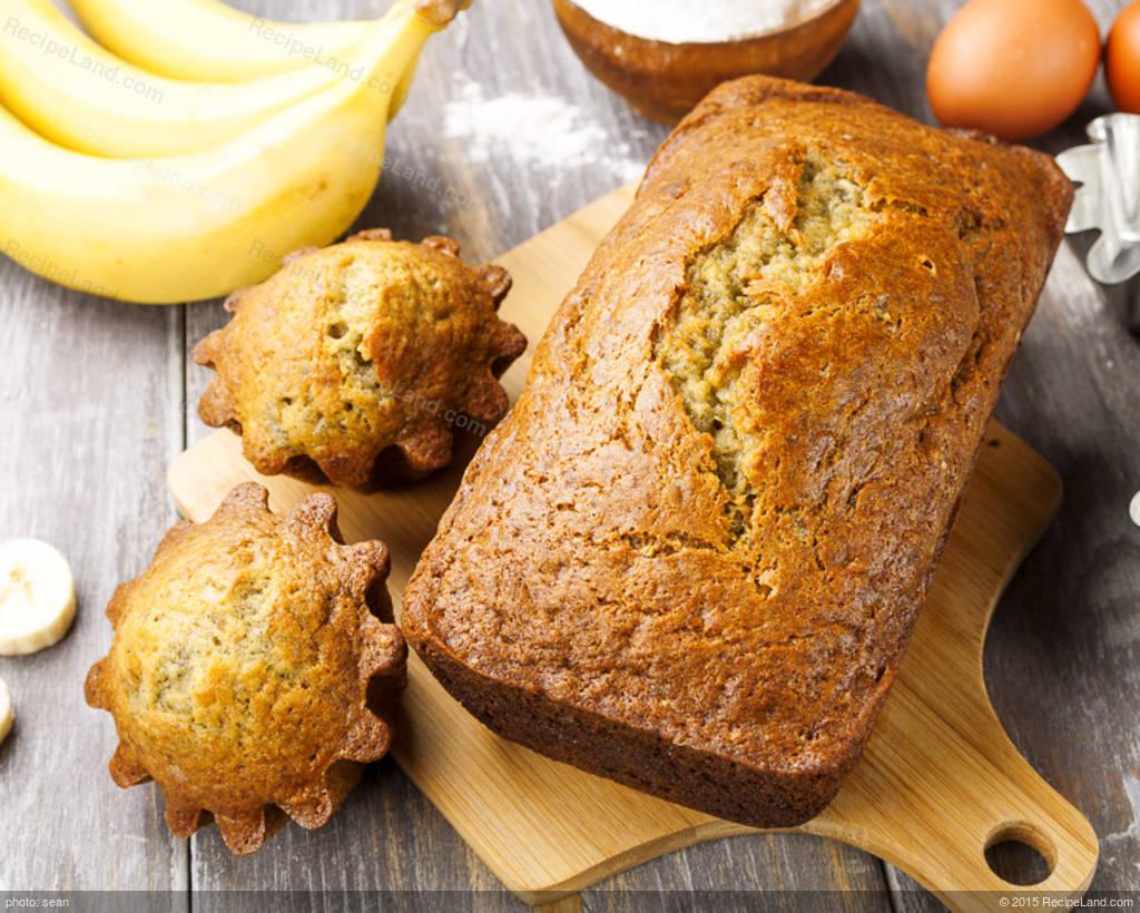 Ripe Banana Bread Recipe Recipeland Com