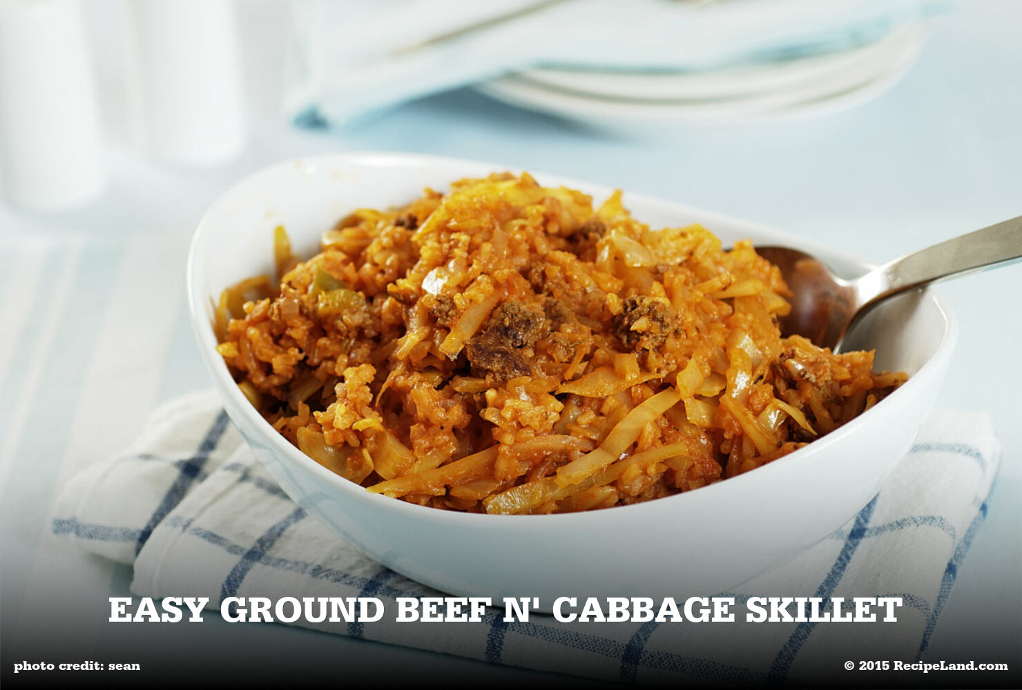 Easy Ground Beef n' Cabbage Skillet
