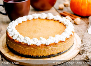 Creamy Cheesecake Pumpkin Pie