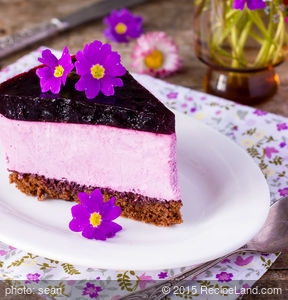 Very Blueberry Cheesecake