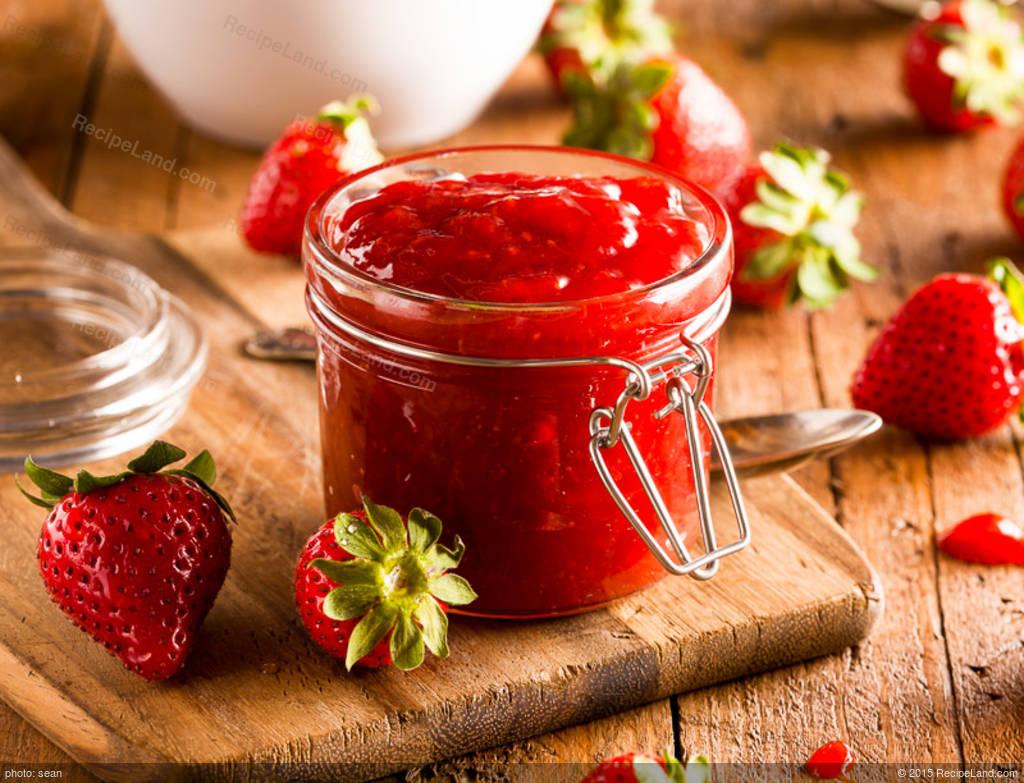Cooked Strawberry Jam - Certo Liquid Recipe