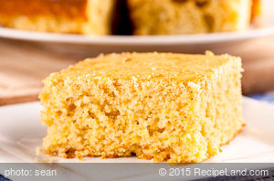 Basic Whole Grain Cornbread