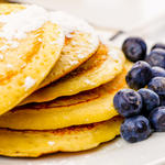 Favourite Breakfast Cornmeal Pancakes