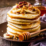 Breakfast Apple Pancakes