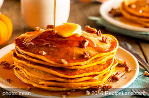 Orange-Flavored Pancakes