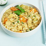 Leftover Turkey Barley Soup