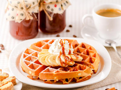 Best Sourdough Belgian Waffles