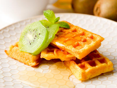 Delicious Pumpkin Waffles