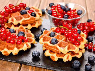 Yummy Whole Wheat Waffles