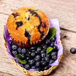 Citrus Blueberry Muffins