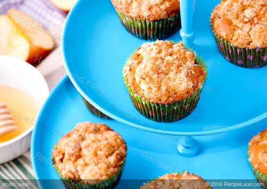 Apple Butter-Streusel Muffins