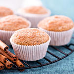 100% Whole Wheat Apple Muffins