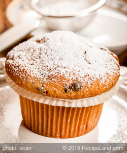 Breakfast Apple Raisin Muffins
