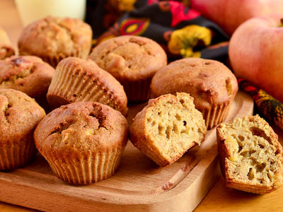 Lemony Apple Muffins