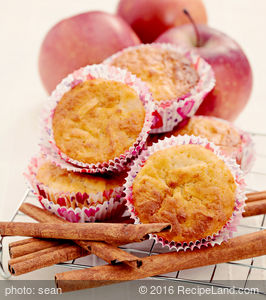 Favourite Apple Spice Muffins