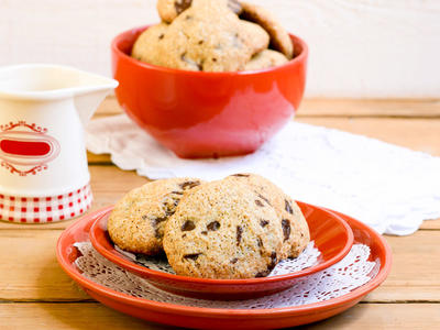 Chocolate Chip Soybean Cookies