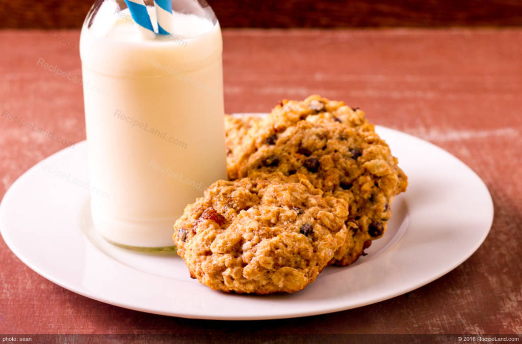Alice's Oatmeal Chocolate Chip Cookies Recipe