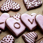 Cocoa Cookie Hearts