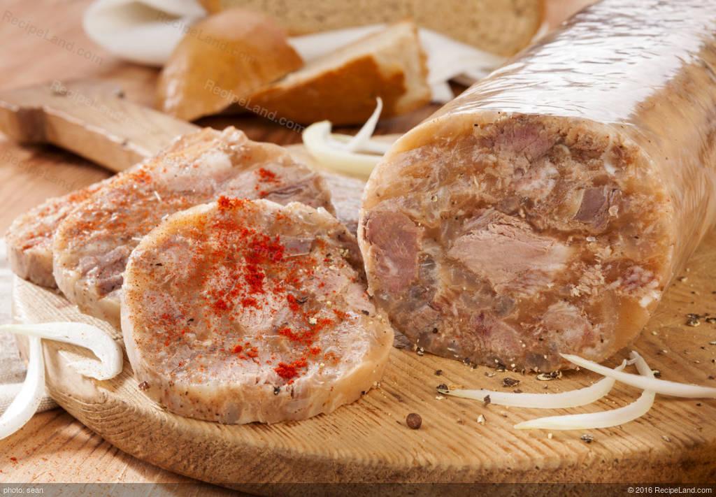 Hog Head Cheese Recipe | RecipeLand.com