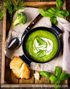 Dave's Cream of Broccoli Soup