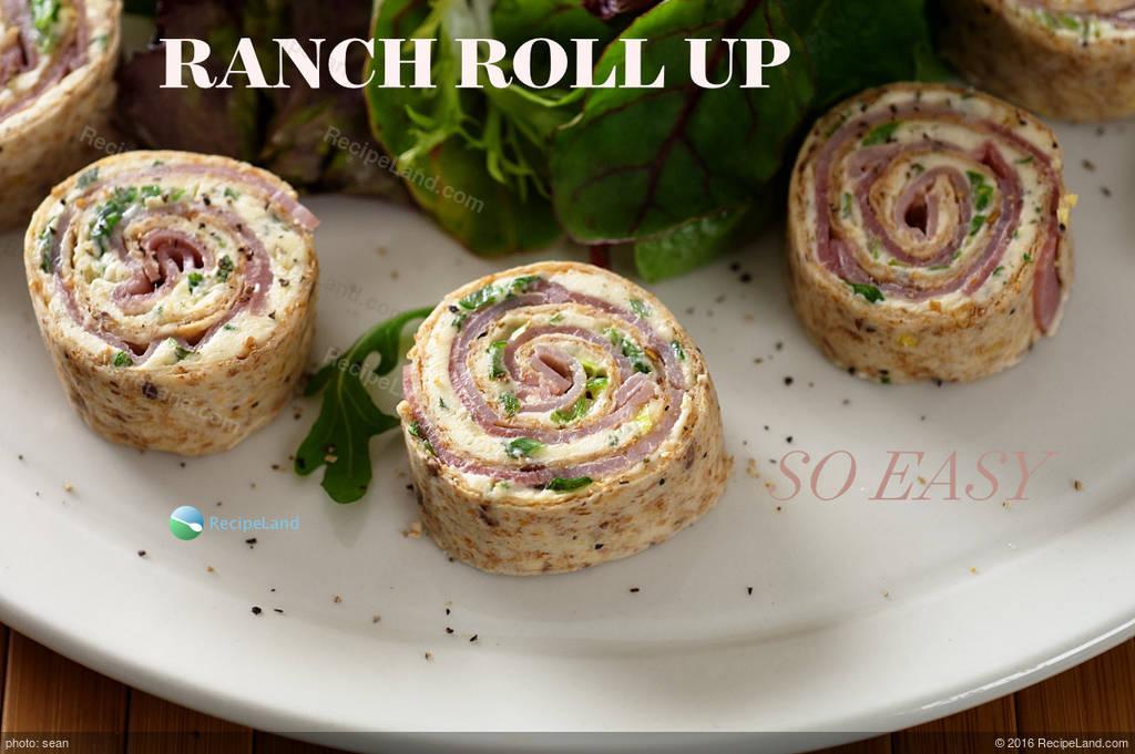 Easy ranch tortilla roll ups recipe for Easy ranch