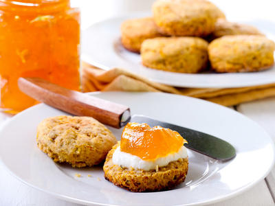 Pumpkin Biscuits (Lacto)