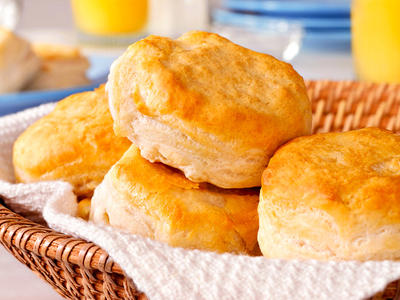 Dad's Easy Buttermilk Biscuits