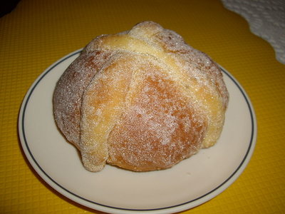 Pan De Muertos(All Saints and All Souls Day Bread)