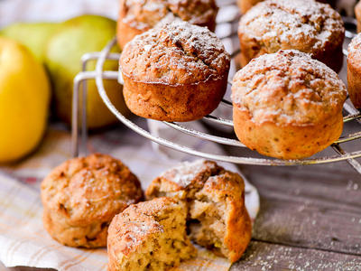 Chunky Apple Spice Muffins