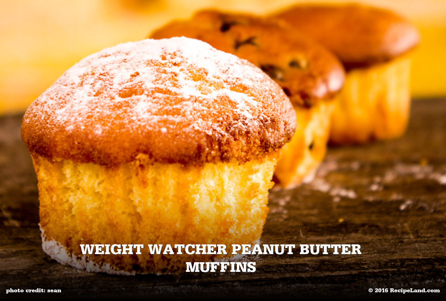 Weight Watcher Peanut Butter Muffins