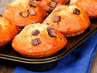 Charles Banana Chocolate Chip Muffins