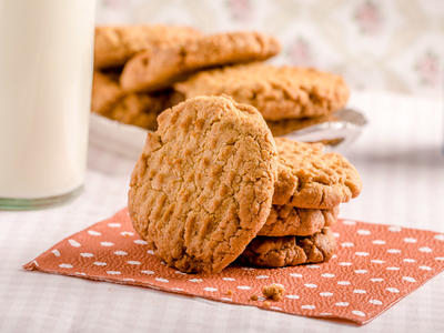 Super Peanut Butter Cookies