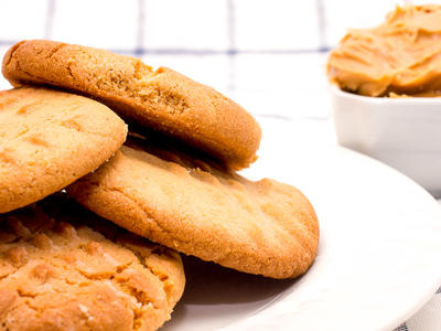 Granny's Old Fashioned Peanut Butter Cookies