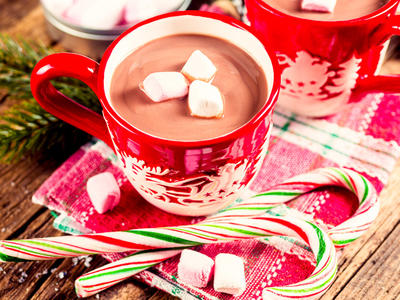 Nonfat Holiday Hot Chocolate