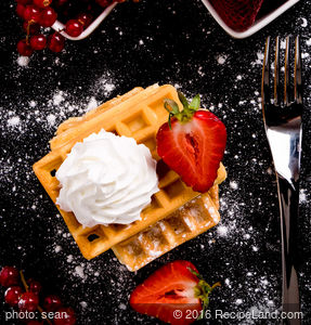 Awesome Ginger Spice Waffles