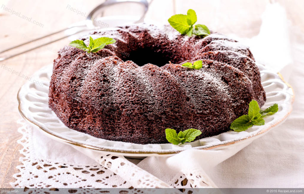 Easy Moist Chocolate Bundt Cake Recipe