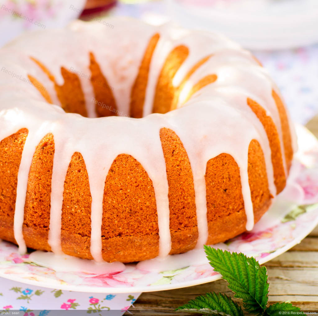 Cranberry Nut Bundt Cake Recipe