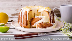 Alice Almond Pound Cake