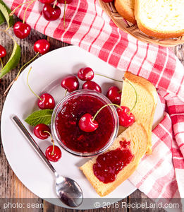 Spiced Cherry Orange Jam