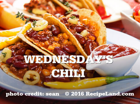 Wednesday's Chili