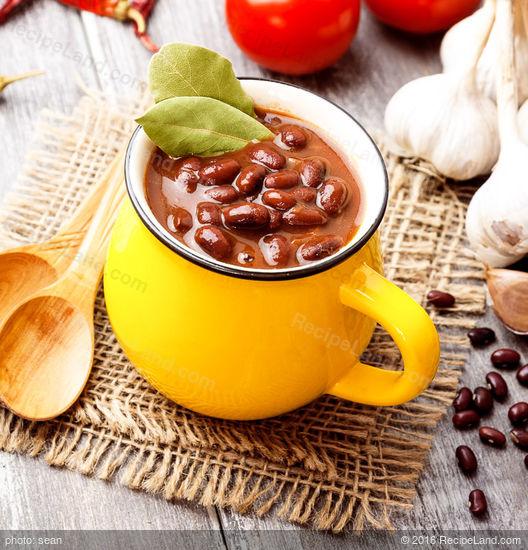 Spicy Red Bean Soup Recipe | RecipeLand.com